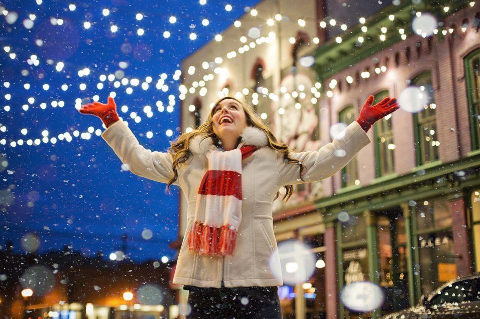 Karácsony a városban