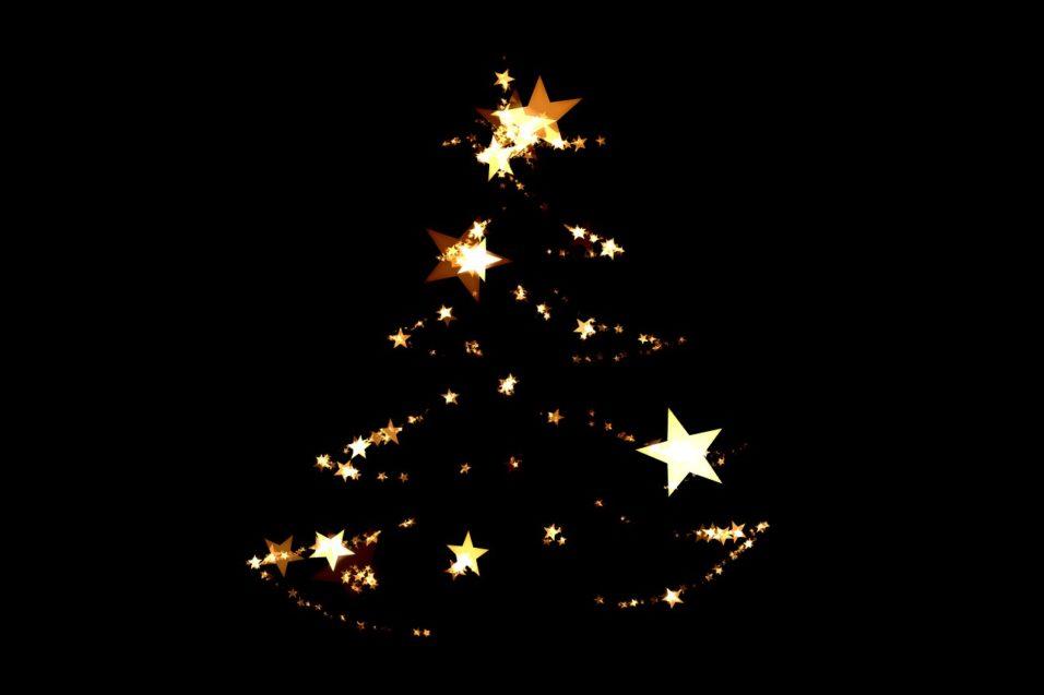 Karácsonyfa fényei