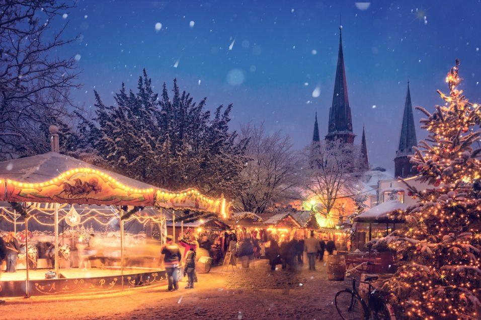 Karácsonyi városkép