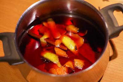 forralt bor készítése