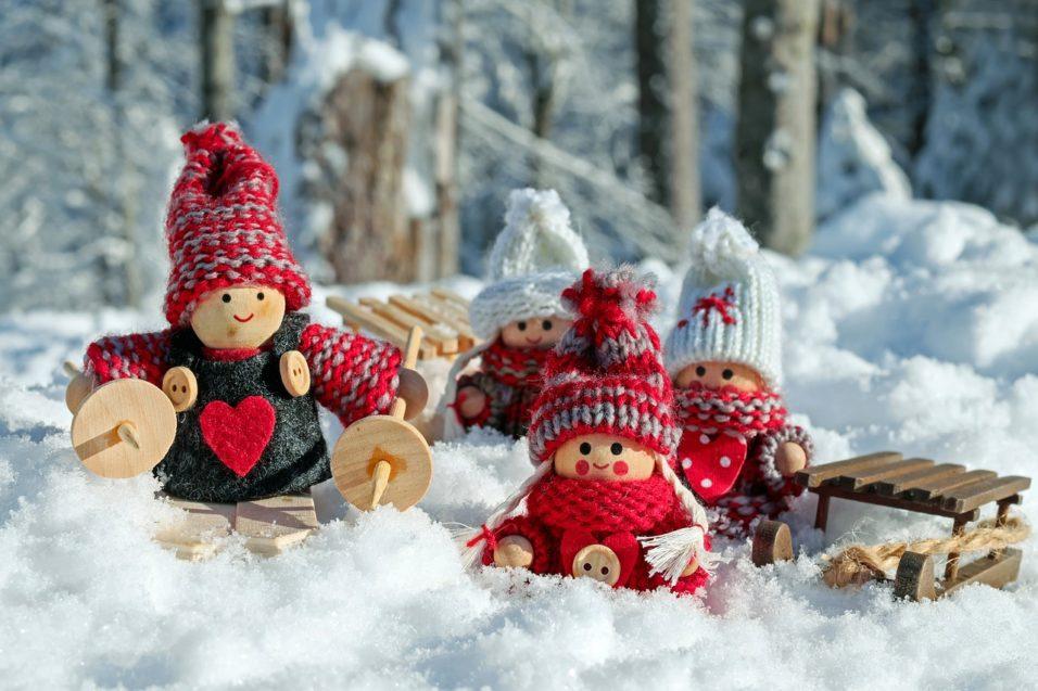 Karácsonyi fa babák