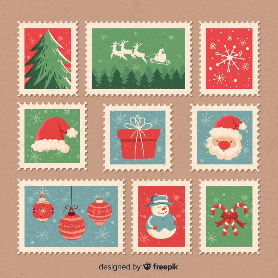 karácsonyi bélyeg