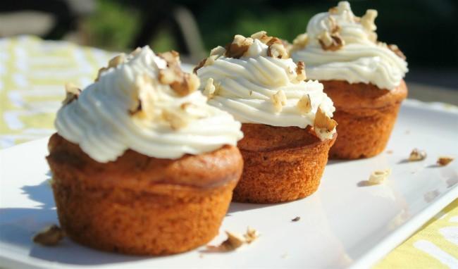 Sütőtökös muffin krémmel