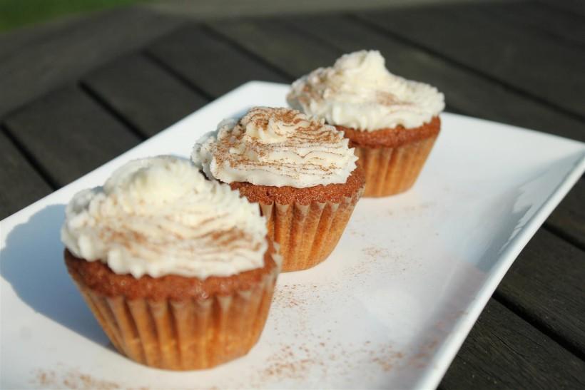 Karamellás fahéjas muffin
