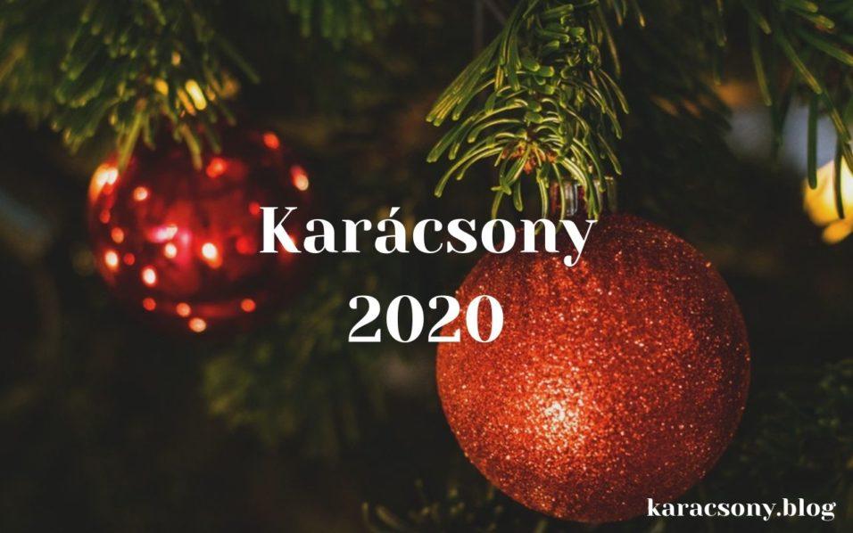 karácsony 2020