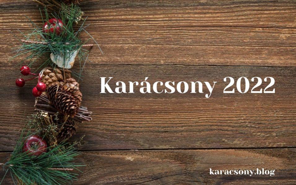 karácsony 2022