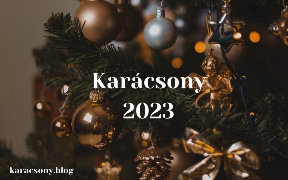 karácsony 2023