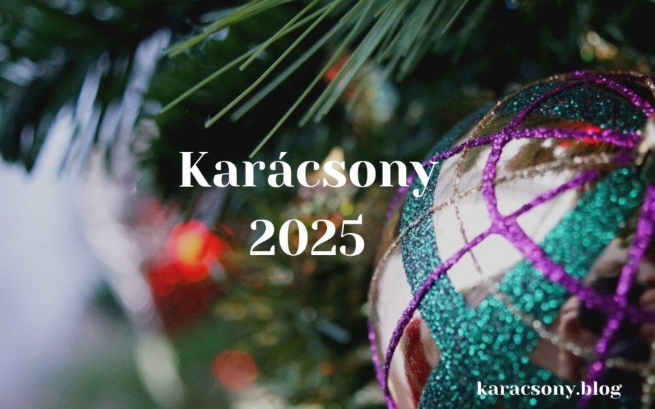 karácsony 2025