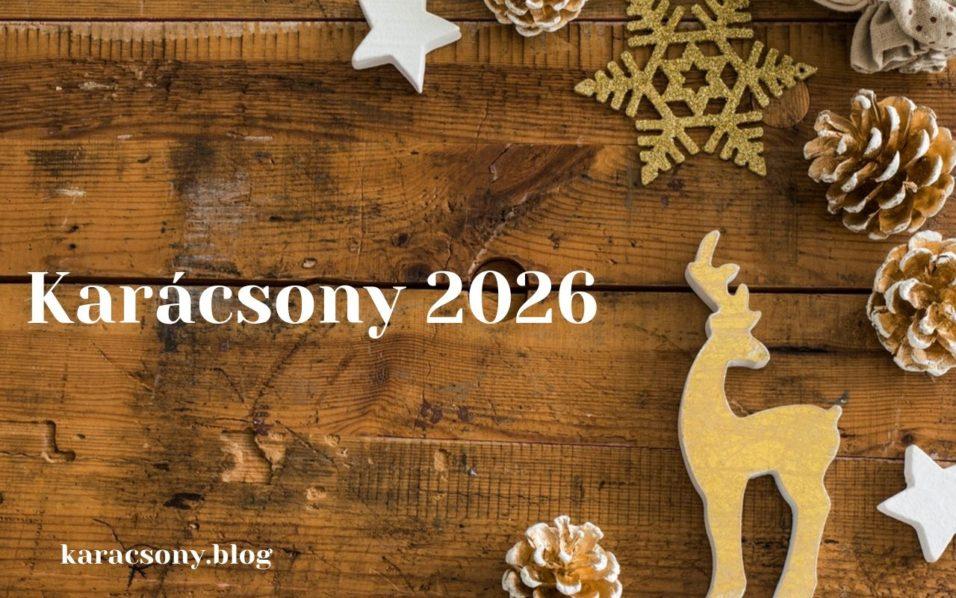 karácsony 2026
