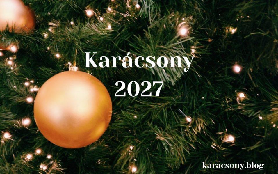 karácsony 2027