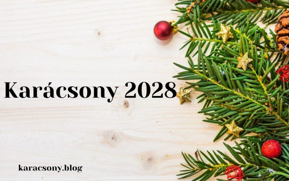 karácsony 2028