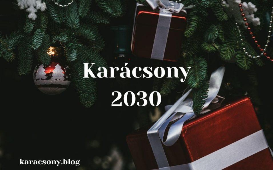karácsony 2030