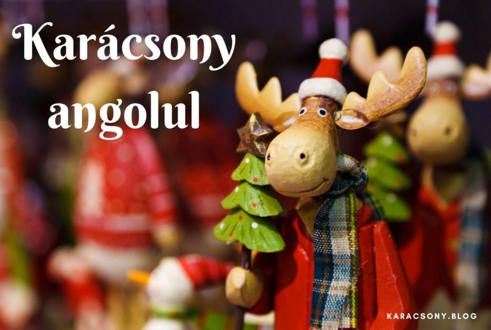 Karácsony angolul