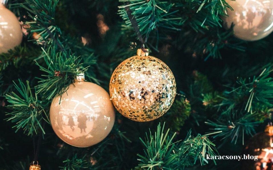 karácsonyi díszek gömbből